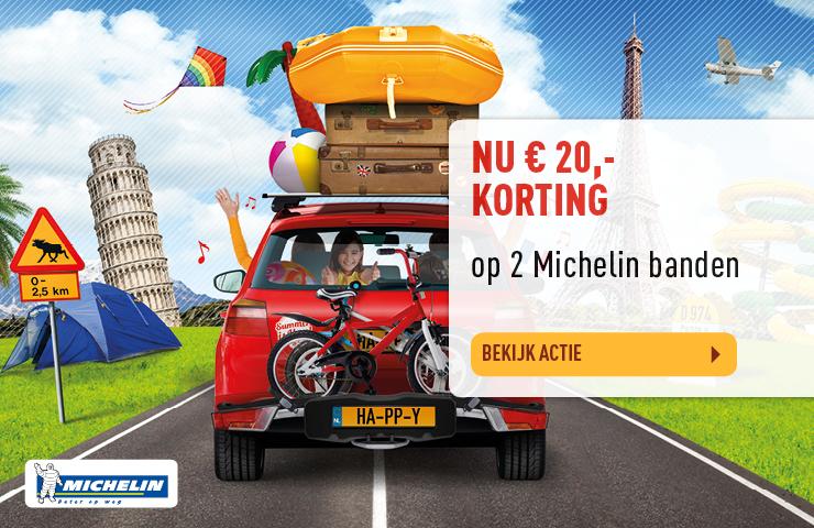 Bekijk Michelin autobanden actie