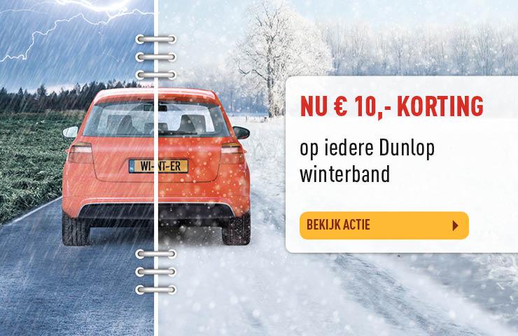 Bekijk Dunlop winterbanden actie