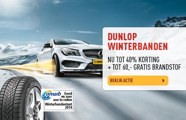 Dunlop winterbanden aanbieding