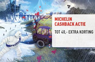 Michelin banden tot 40,- extra korting